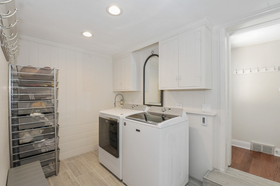 Real Estate Photography - 1733 Stevens Dr, Glenview, IL, 60025 - Laundry Room