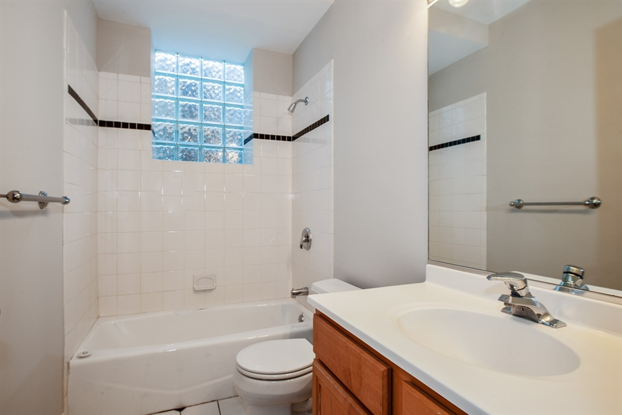 Real Estate Photography - 4745 N Dover St, Chicago, IL, 60640 - 3rd Bathroom