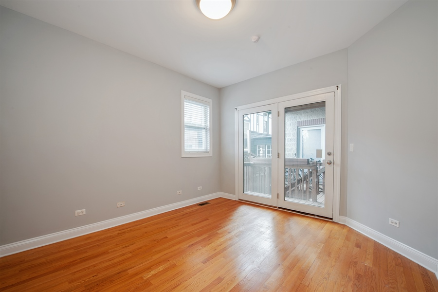 Real Estate Photography - 4745 N Dover St, Chicago, IL, 60640 - 2nd Bedroom