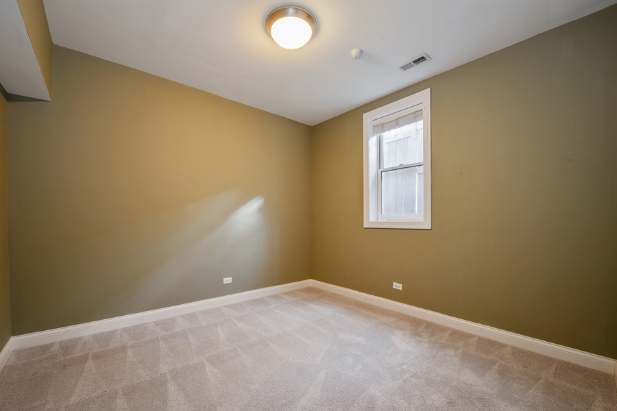 Real Estate Photography - 4745 N Dover St, Chicago, IL, 60640 - 3rd Bedroom