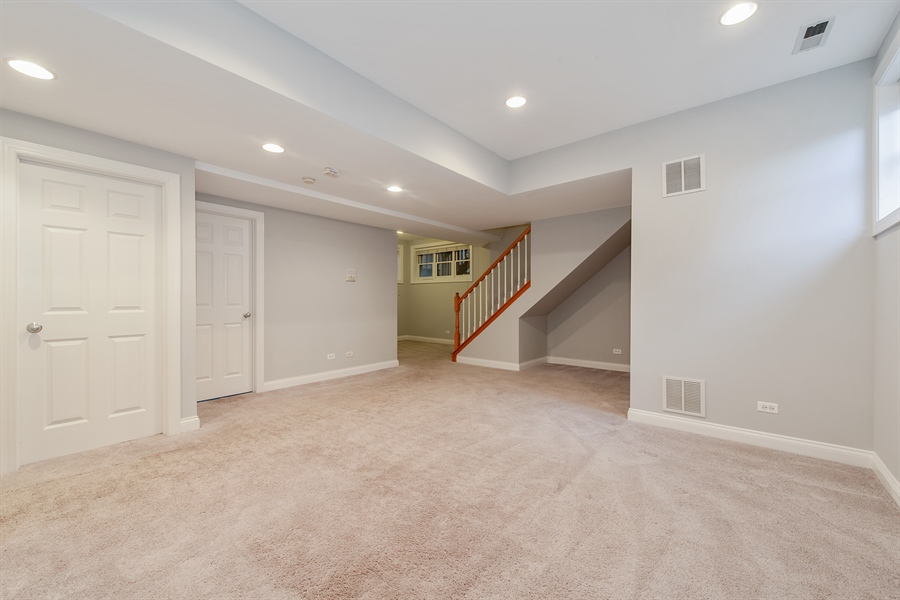 Real Estate Photography - 4745 N Dover St, Chicago, IL, 60640 - Lower Level