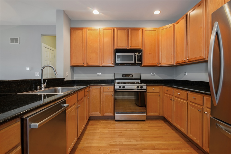 Real Estate Photography - 4745 N Dover St, Chicago, IL, 60640 - Kitchen