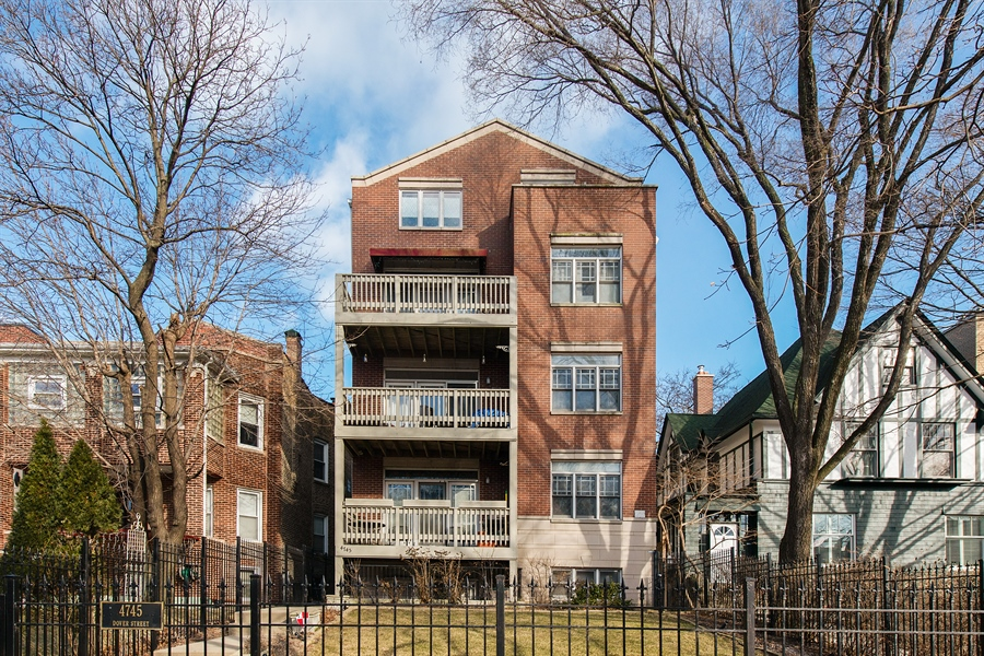 Real Estate Photography - 4745 N Dover St, Chicago, IL, 60640 - Front View