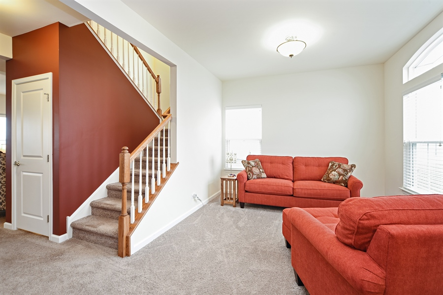 Real Estate Photography - 890 Sunburst Lane, Gilberts, IL, 60136 - Living Room