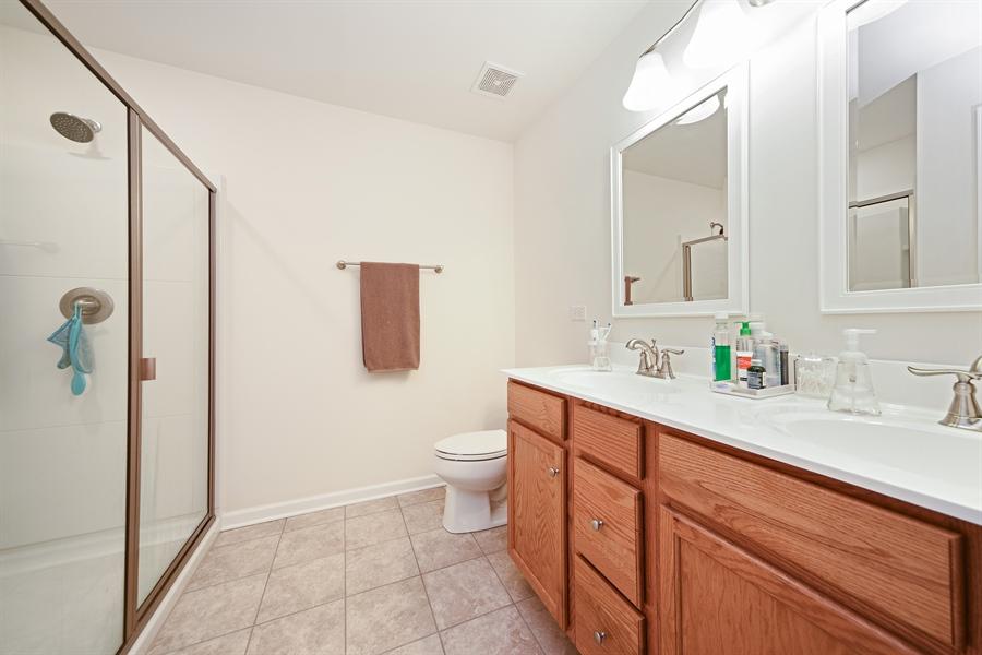 Real Estate Photography - 890 Sunburst Lane, Gilberts, IL, 60136 - Master Bathroom
