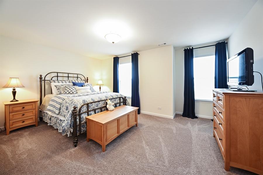 Real Estate Photography - 890 Sunburst Lane, Gilberts, IL, 60136 - 3rd Bedroom