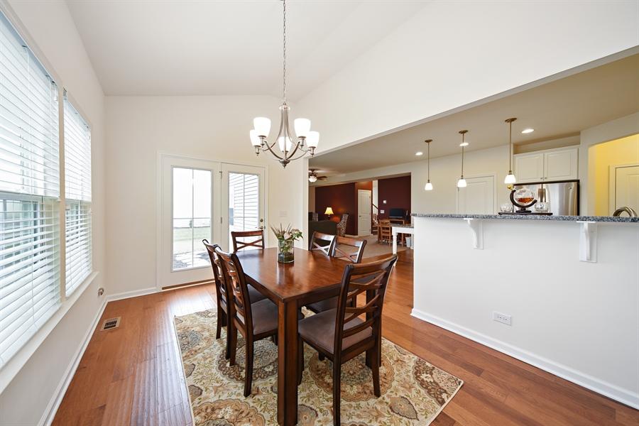 Real Estate Photography - 890 Sunburst Lane, Gilberts, IL, 60136 - Dining Room