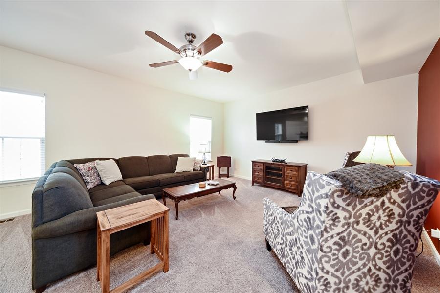 Real Estate Photography - 890 Sunburst Lane, Gilberts, IL, 60136 - Family Room