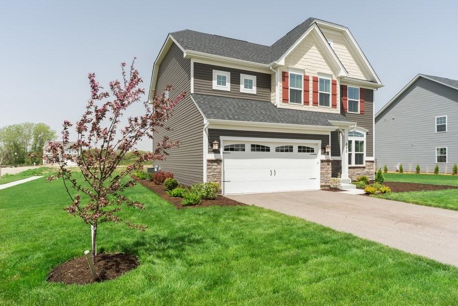 Real Estate Photography - 890 Sunburst Lane, Gilberts, IL, 60136 - Front View