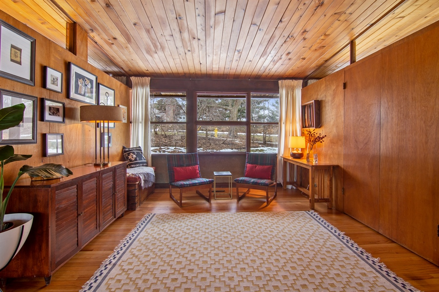 Real Estate Photography - 565 Meadow Rd, Winnetka, IL, 60043 - 3rd bedroom/Den