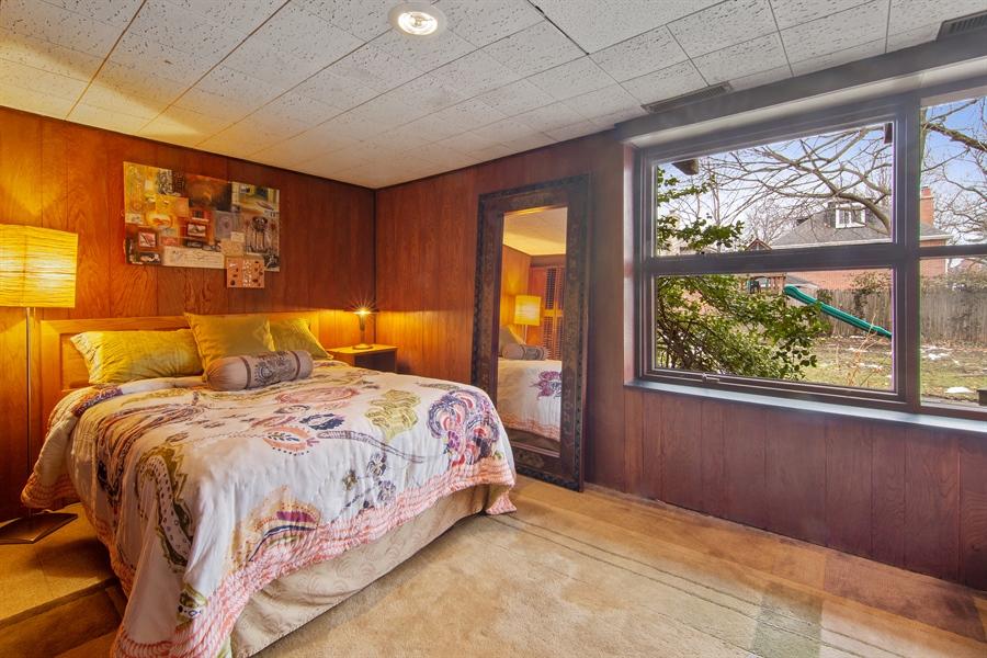 Real Estate Photography - 565 Meadow Rd, Winnetka, IL, 60043 - 2nd Bedroom