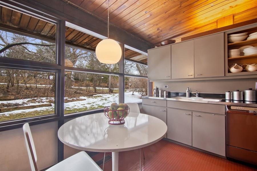 Real Estate Photography - 565 Meadow Rd, Winnetka, IL, 60043 - Kitchen