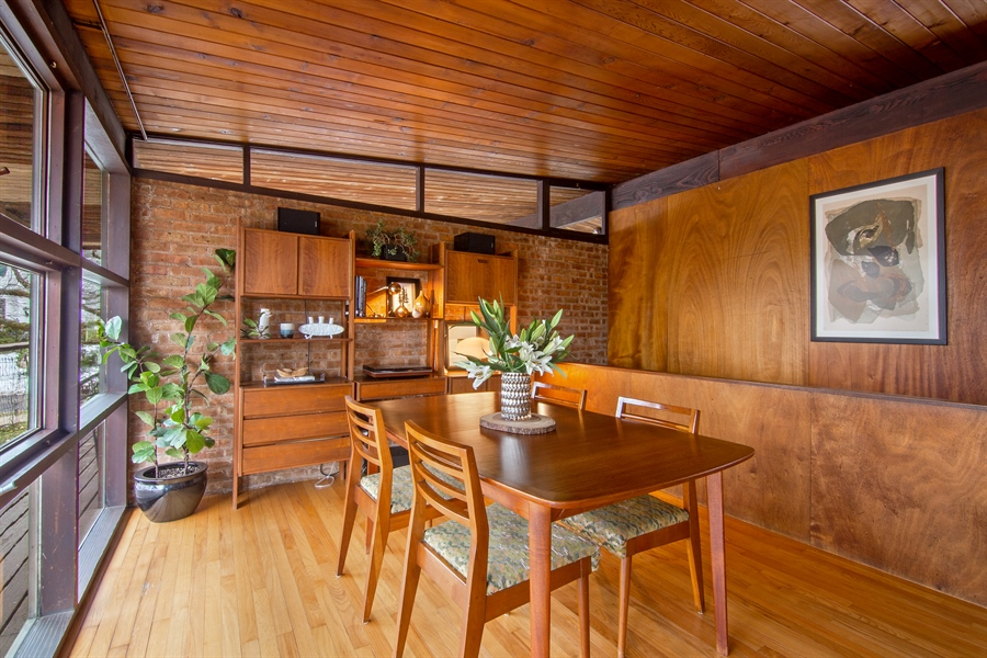 Real Estate Photography - 565 Meadow Rd, Winnetka, IL, 60043 - Dining Room