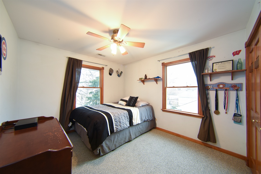 Real Estate Photography - 310 N Owen St, Mount Prospect, IL, 60056 - 2nd Bedroom