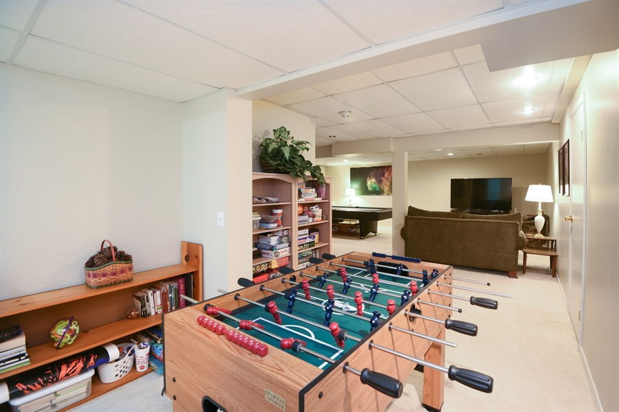 Real Estate Photography - 1110 Tucker Drive, St. Joseph, MI, 49085 - Rec Room
