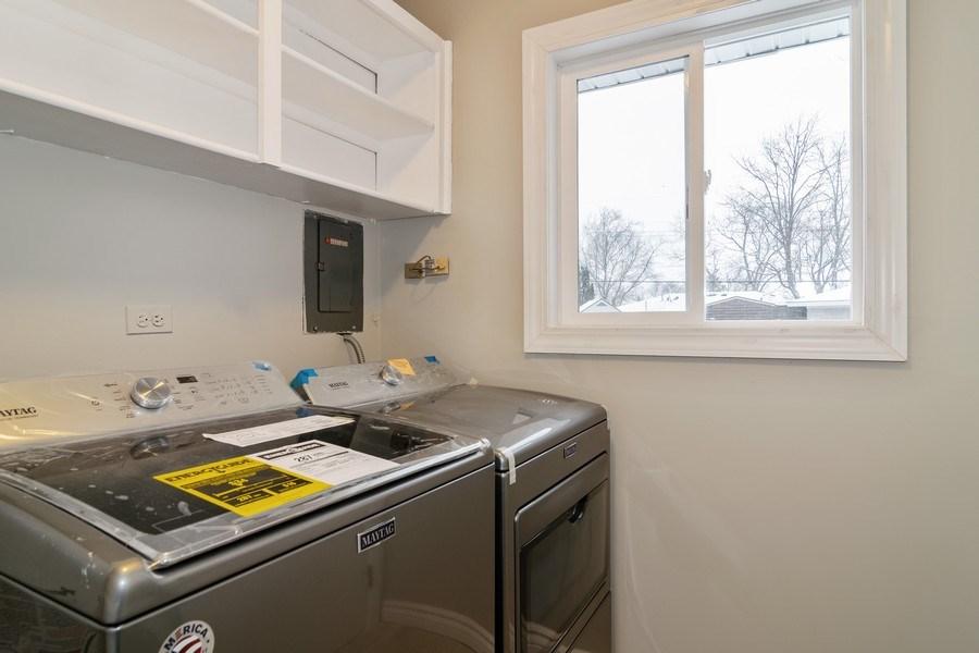 Real Estate Photography - 520 Maywood Lane, Hoffman Estates, IL, 60169 - Laundry Room