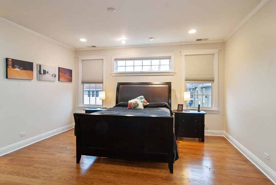 Real Estate Photography - 7310 Holly Ct, River Forest, IL, 60305 - Master Bedroom