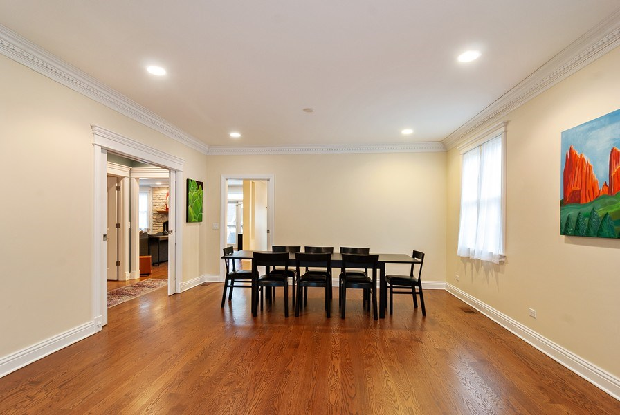 Real Estate Photography - 7310 Holly Ct, River Forest, IL, 60305 - Dining Room