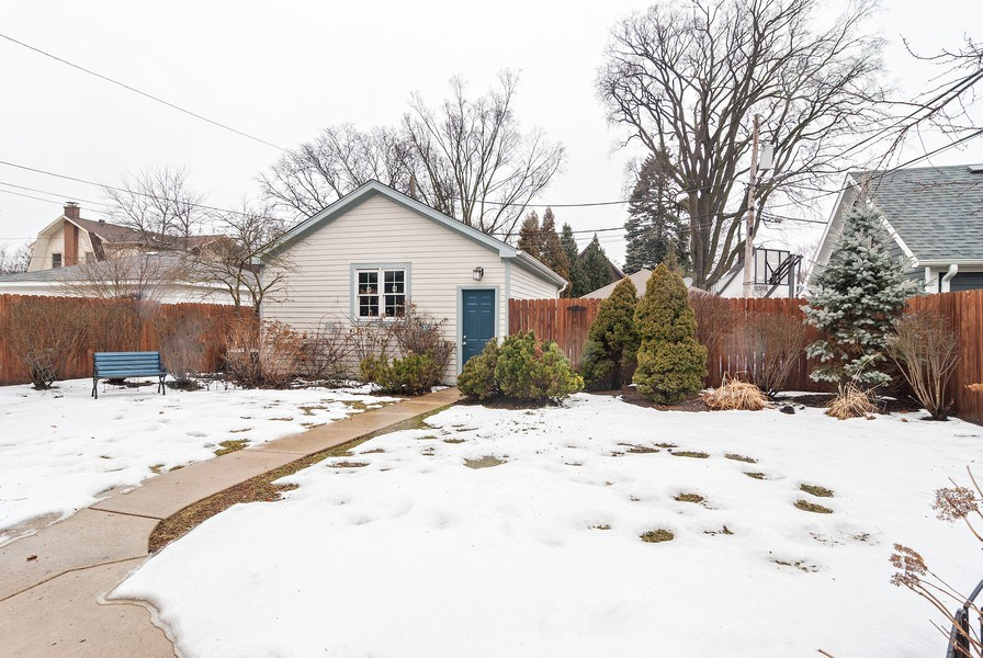 Real Estate Photography - 7310 Holly Ct, River Forest, IL, 60305 - Back Yard