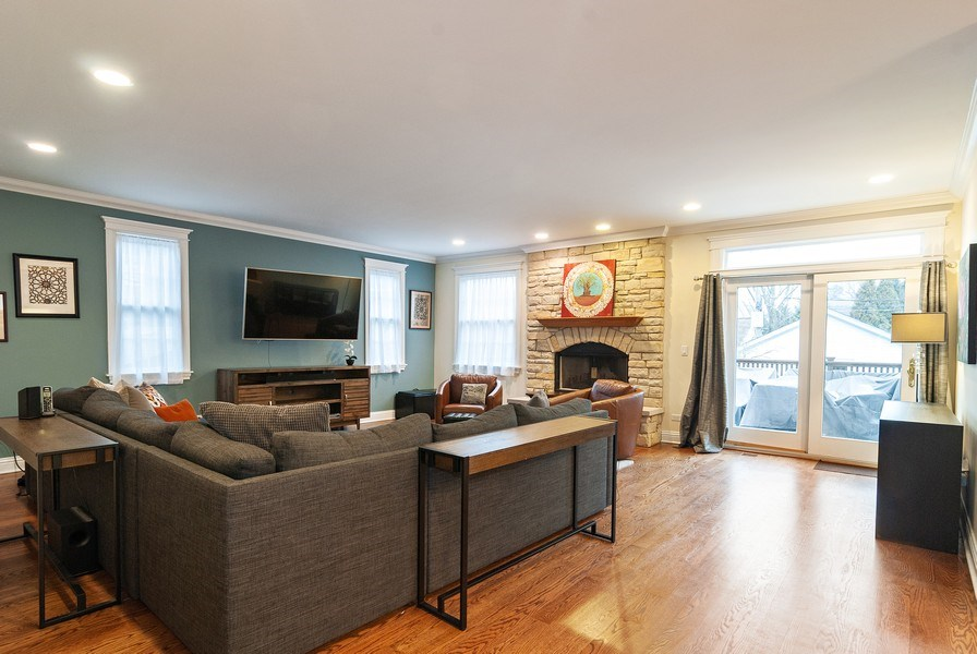 Real Estate Photography - 7310 Holly Ct, River Forest, IL, 60305 - Family Room