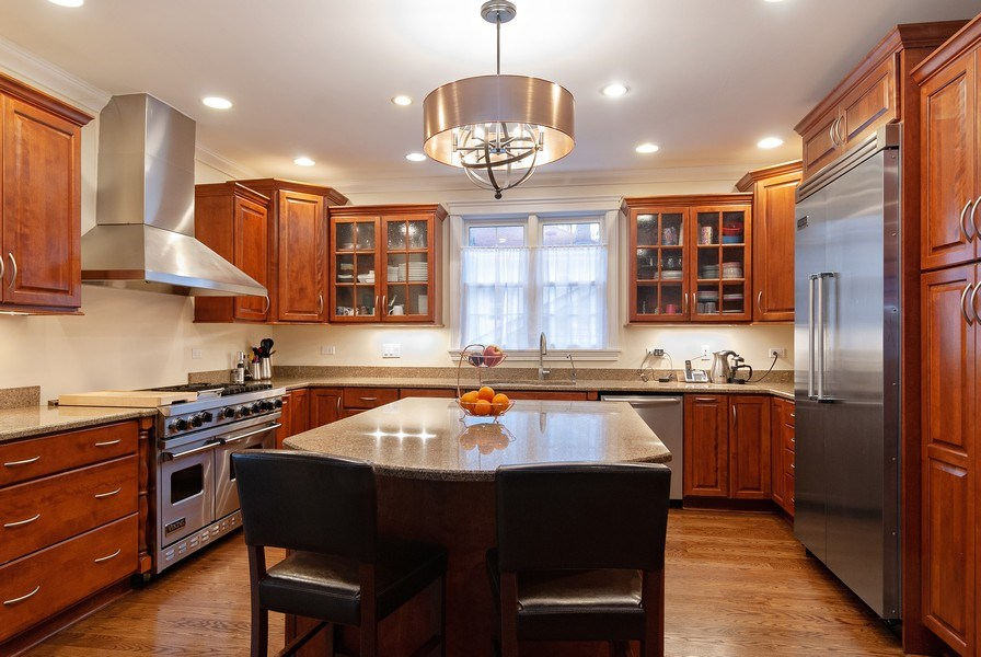 Real Estate Photography - 7310 Holly Ct, River Forest, IL, 60305 - Kitchen