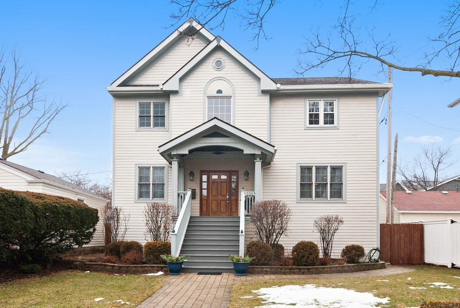 Real Estate Photography - 7310 Holly Ct, River Forest, IL, 60305 - Front View