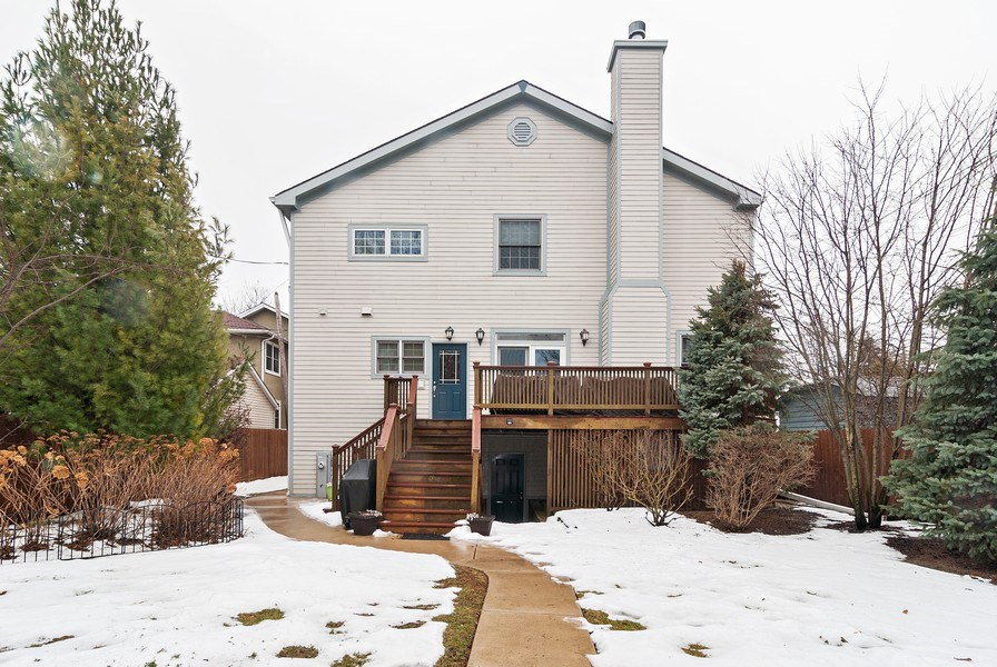 Real Estate Photography - 7310 Holly Ct, River Forest, IL, 60305 - Rear View