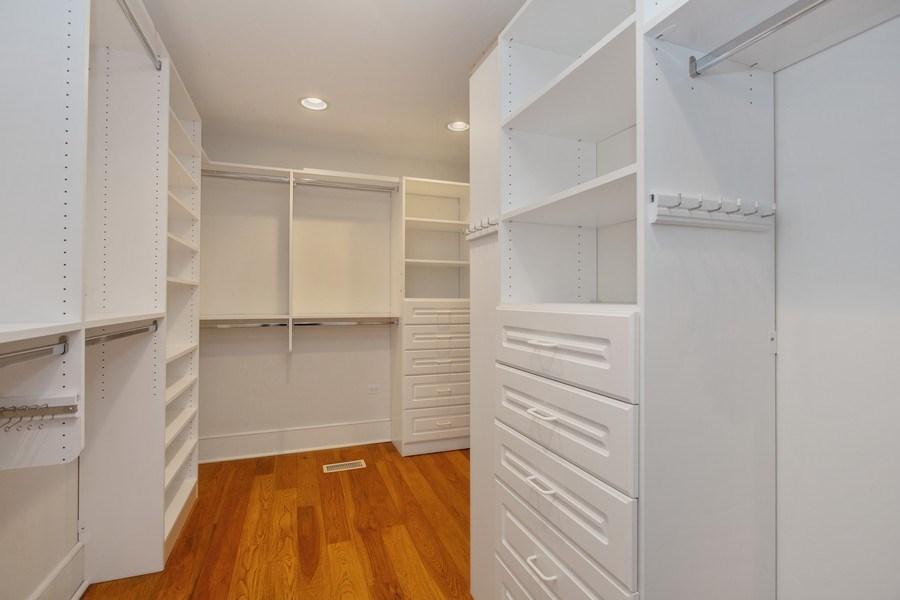 Real Estate Photography - 13173 Sunset Point, New Buffalo, MI, 49117 - Master Walk-In Closet