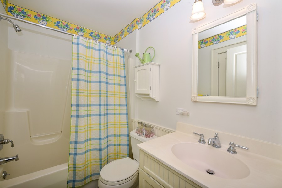 Real Estate Photography - 13173 Sunset Point, New Buffalo, MI, 49117 - Upstairs Bath
