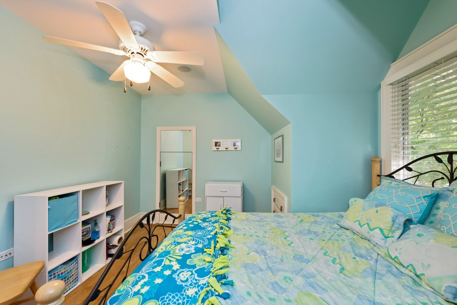 Real Estate Photography - 13173 Sunset Point, New Buffalo, MI, 49117 - Bdrm 2 with Hidden Door Master Access