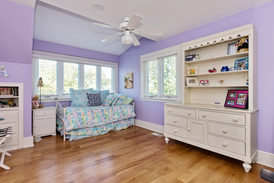 Real Estate Photography - 13173 Sunset Point, New Buffalo, MI, 49117 - Bedroom 3 with Lake View