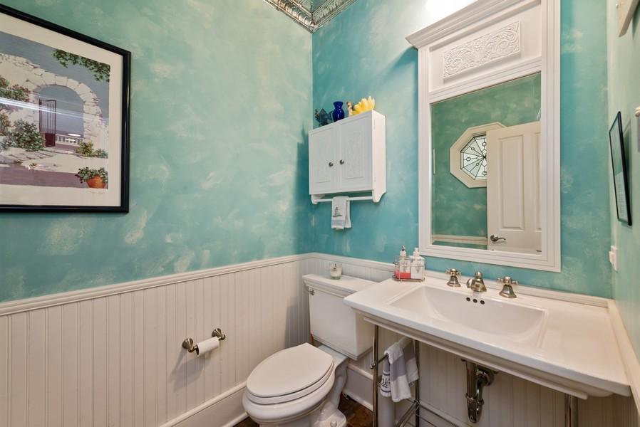 Real Estate Photography - 13173 Sunset Point, New Buffalo, MI, 49117 - 1st Floor Half Bath