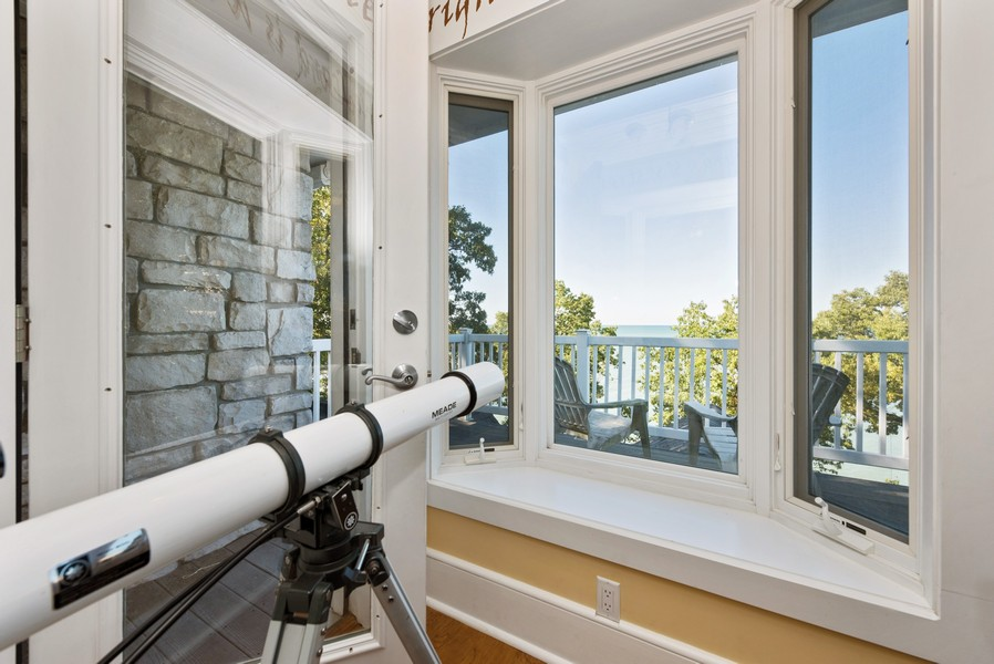 Real Estate Photography - 13173 Sunset Point, New Buffalo, MI, 49117 - Rooftop Deck