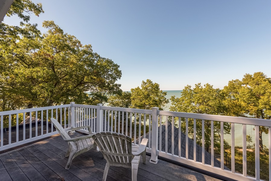 Real Estate Photography - 13173 Sunset Point, New Buffalo, MI, 49117 - Alternate View From Rooftop Deck