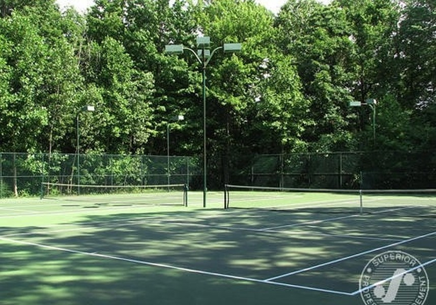 Real Estate Photography - 13173 Sunset Point, New Buffalo, MI, 49117 - Association Tennis Courts