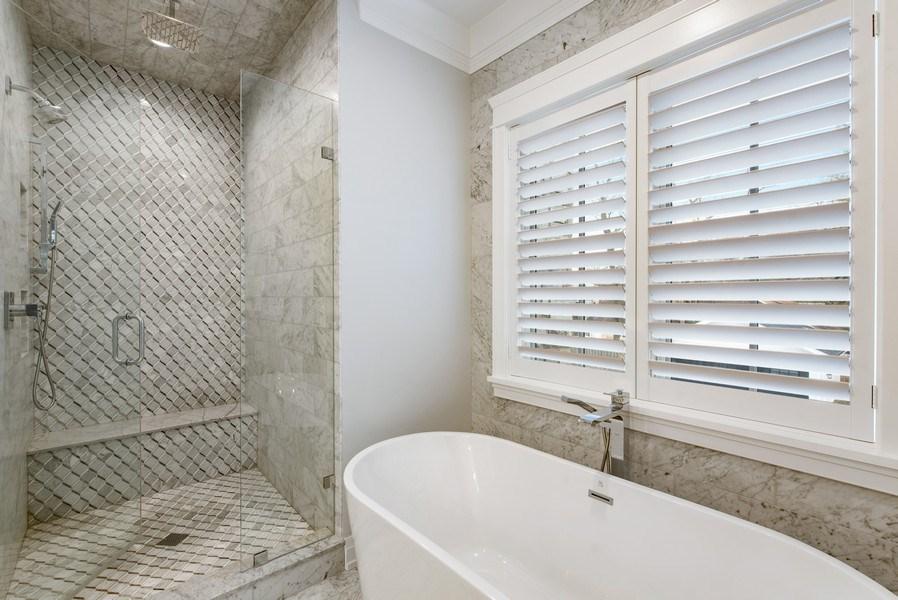 Real Estate Photography - 467 Provident Avenue, Winnetka, IL, 60093 - Master Bathroom