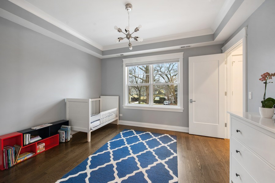 Real Estate Photography - 467 Provident Avenue, Winnetka, IL, 60093 - 2nd Bedroom