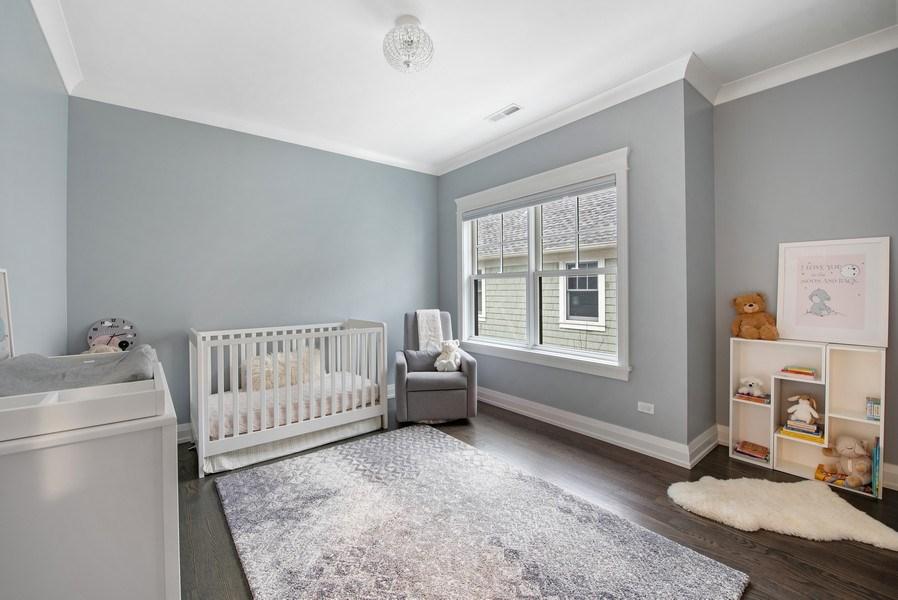 Real Estate Photography - 467 Provident Avenue, Winnetka, IL, 60093 - 3rd Bedroom