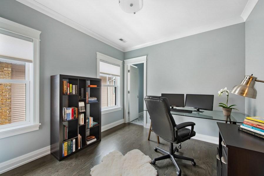 Real Estate Photography - 467 Provident Avenue, Winnetka, IL, 60093 - 4th Bedroom