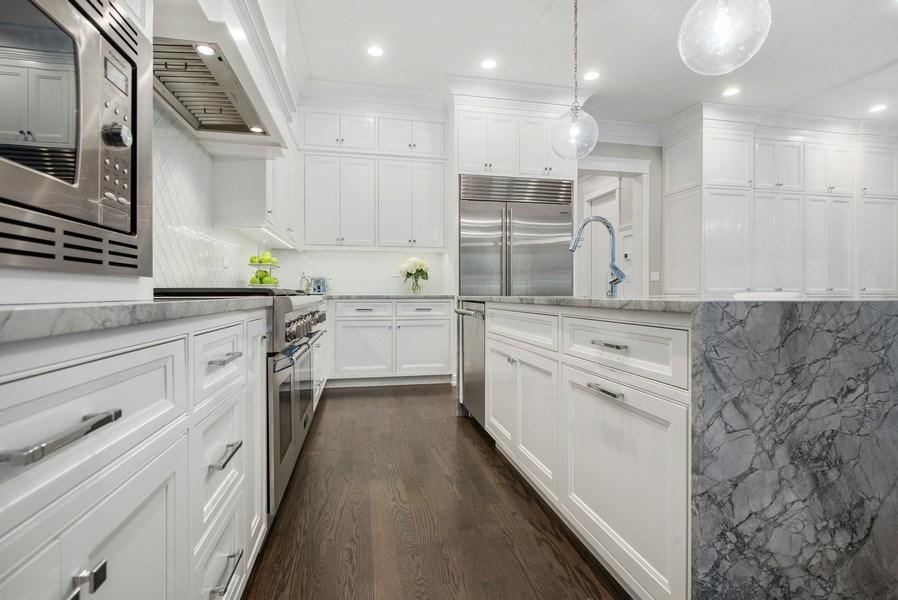 Real Estate Photography - 467 Provident Avenue, Winnetka, IL, 60093 - Kitchen