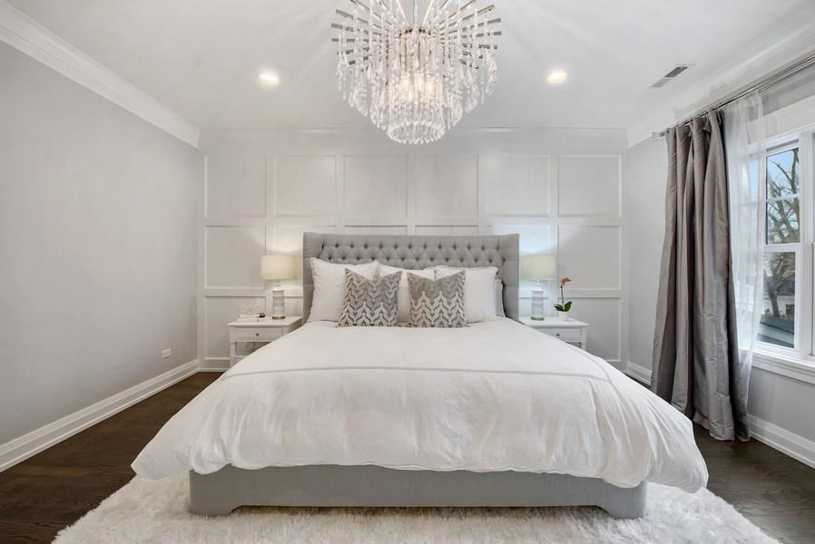 Real Estate Photography - 467 Provident Avenue, Winnetka, IL, 60093 - Master Bedroom