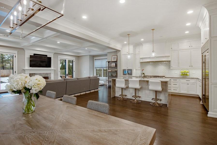 Real Estate Photography - 467 Provident Avenue, Winnetka, IL, 60093 - Kitchen / Breakfast Room