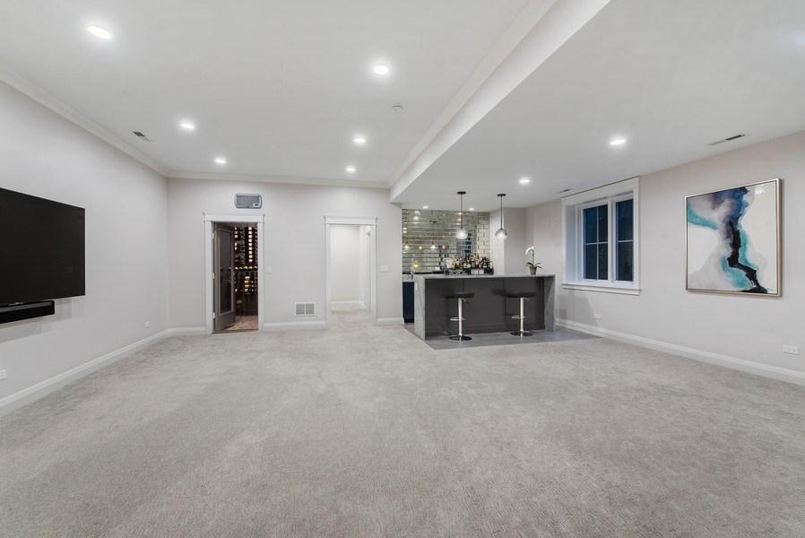 Real Estate Photography - 467 Provident Avenue, Winnetka, IL, 60093 - Recreation Room