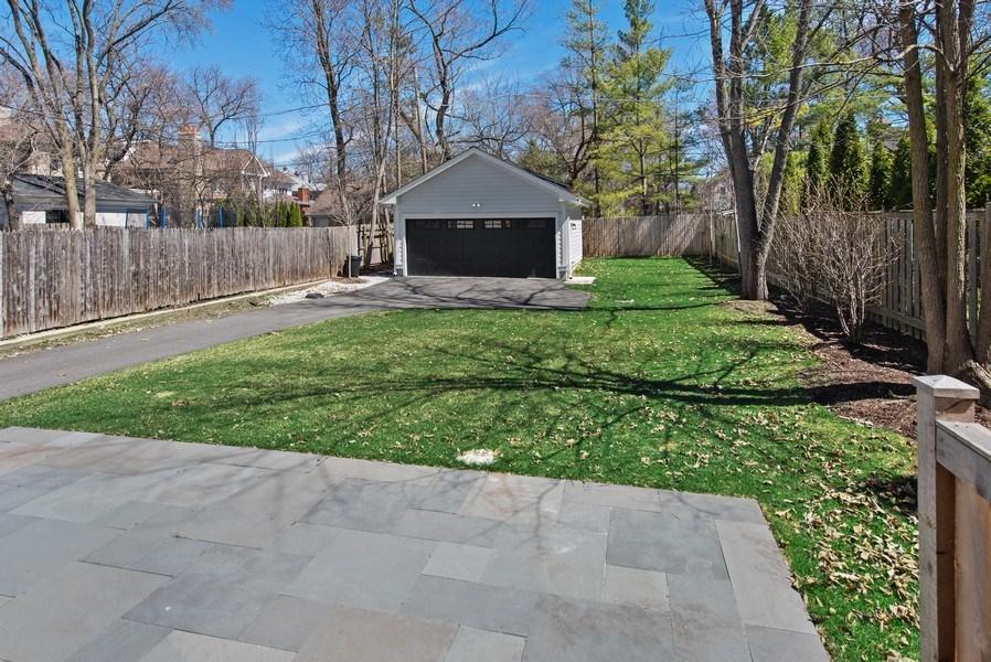 Real Estate Photography - 467 Provident Avenue, Winnetka, IL, 60093 - Back Yard