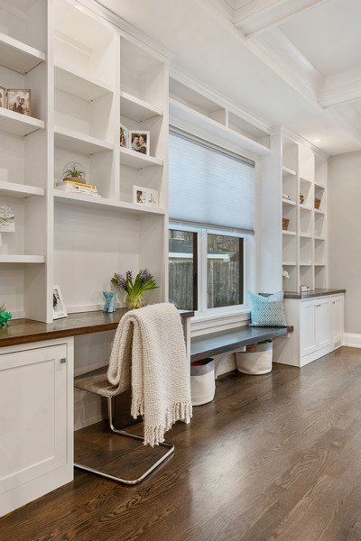Real Estate Photography - 467 Provident Avenue, Winnetka, IL, 60093 - Family Room