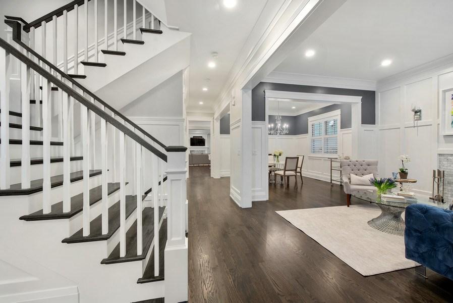 Real Estate Photography - 467 Provident Avenue, Winnetka, IL, 60093 - Foyer