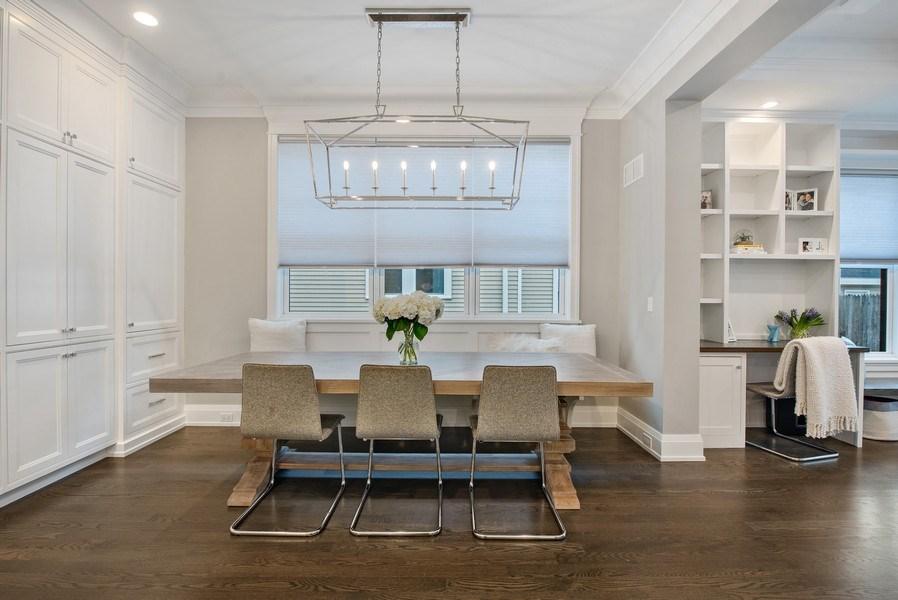 Real Estate Photography - 467 Provident Avenue, Winnetka, IL, 60093 - Breakfast Area