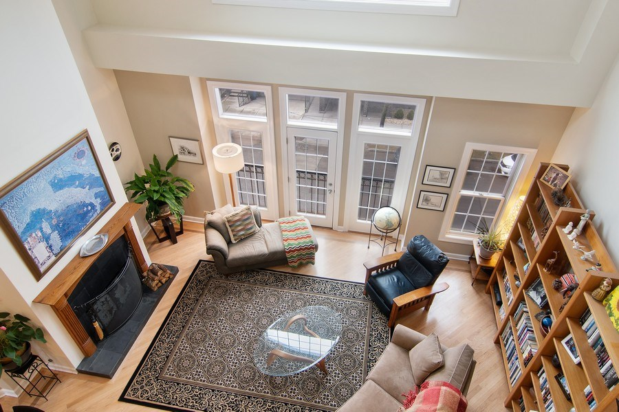 Real Estate Photography - 1541 N. North Park Avenue, #3S, Chicago, IL, 60610 - View from Loft
