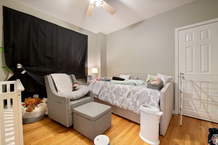 Real Estate Photography - 3509 N. Reta Ave, #2, Chicago, IL, 60657 - 2nd Bedroom