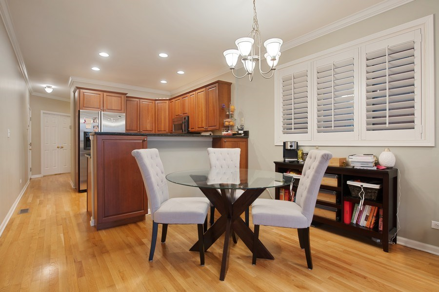 Real Estate Photography - 3509 N. Reta Ave, #2, Chicago, IL, 60657 - Dining Room